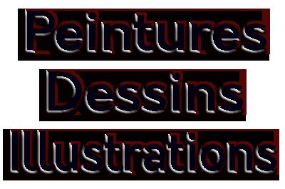 Les éditions Amicalement Vôtre, peintures, dessins et illustrations